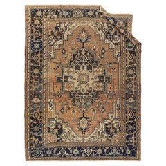 Antique Persian Heriz Rug, circa 1890  10'11 x 14'6