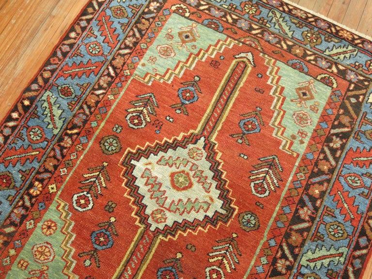 Tudor Antique Persian Heriz Rug For Sale