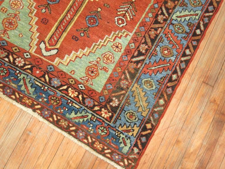 Antique Persian Heriz Rug For Sale 1