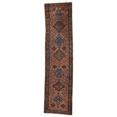 Antique Persian Heriz Runner, Traditional Hallway Runner