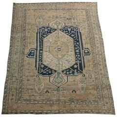 Antique Persian Heriz Serapi Carpet, circa 1900 4882y