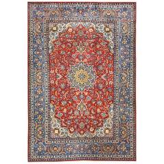Antique Persian Isfahan Rug