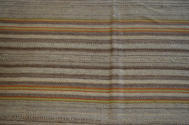Antique Persian Jajim Kilim, circa 1900 In Good Condition For Sale In New York, NY