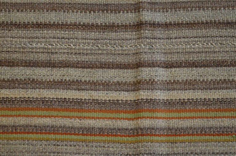 Early 20th Century Antique Persian Jajim Kilim, circa 1900 For Sale