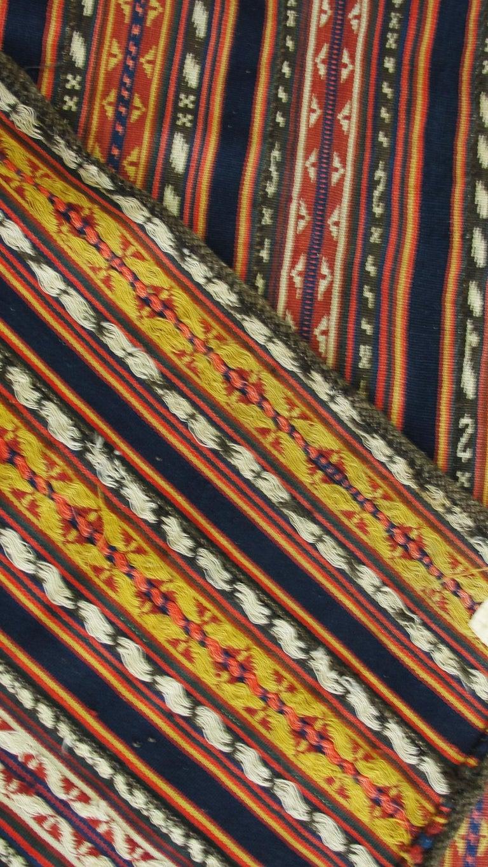 Antique Persian Jajim Kilim Persian Carpet In Excellent Condition For Sale In Evanston, IL