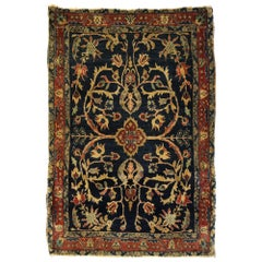 Antique Persian Mohajeran Sarouk Rug with Federal Style