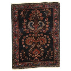 Antique Persian Mohajeran Sarouk Rug with Old World Victorian Style
