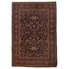 Antique Persian Kashan Rug, circa 1900