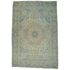 Antique Persian Kerman Oversize Good Cond Handmade Rug