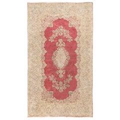 Antique Persian Kerman Rug, circa 1890
