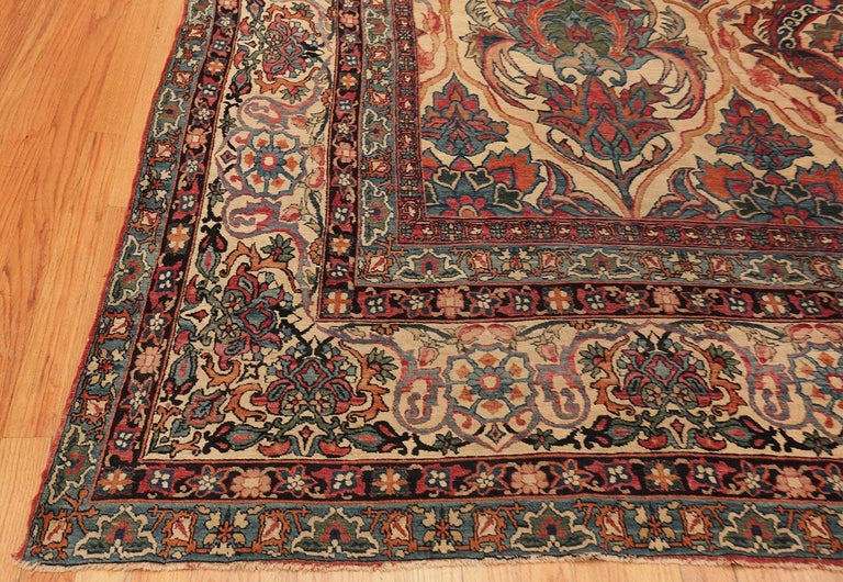 Kirman Antique Persian Kerman Rug For Sale