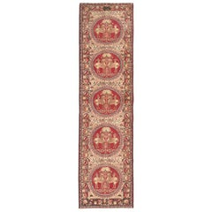 Antique Persian Kerman Runner Rug. Size: 3 ft x 11 ft (0.91 m x 3.35 m)