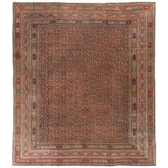 "Antique Persian Khorassan Rug, circa 1900 14'0 x 16'10""."