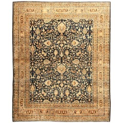 Antique Persian Khorassan Rug. Size: 12 ft 2 in x 15 ft 9 in (3.71 m x 4.8 m)
