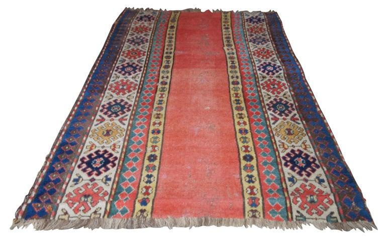 Islamic Antique Persian Kilim Area Rug Runner Carpet For Sale