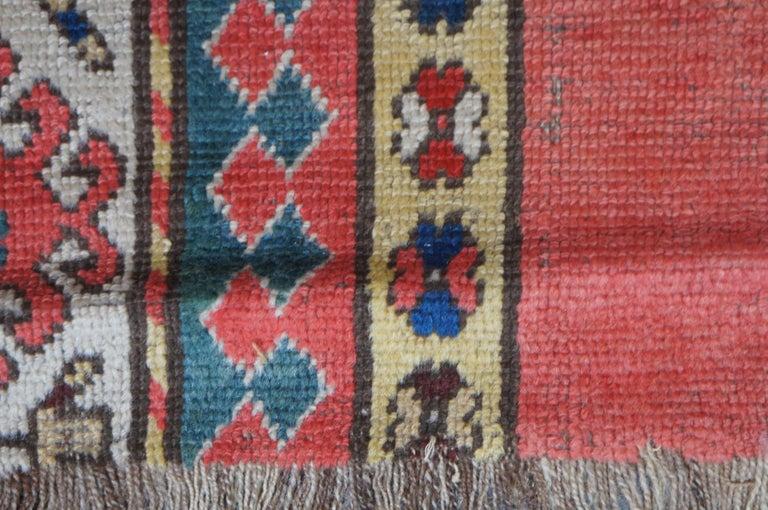 20th Century Antique Persian Kilim Area Rug Runner Carpet For Sale