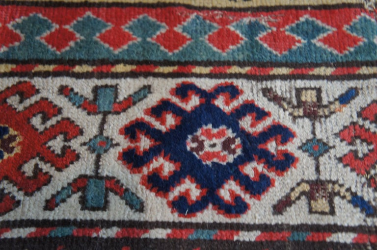 Antique Persian Kilim Area Rug Runner Carpet For Sale 1