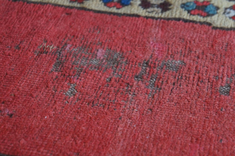 Antique Persian Kilim Area Rug Runner Carpet For Sale 2