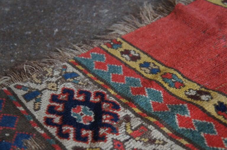 Antique Persian Kilim Area Rug Runner Carpet For Sale 3