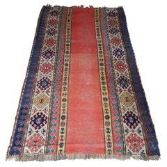 Antique Persian Kilim Area Rug Runner Carpet