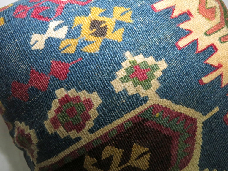 Pillow made from a Persian Kilim.