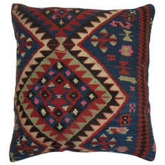 Antique Persian Kilim Pillow