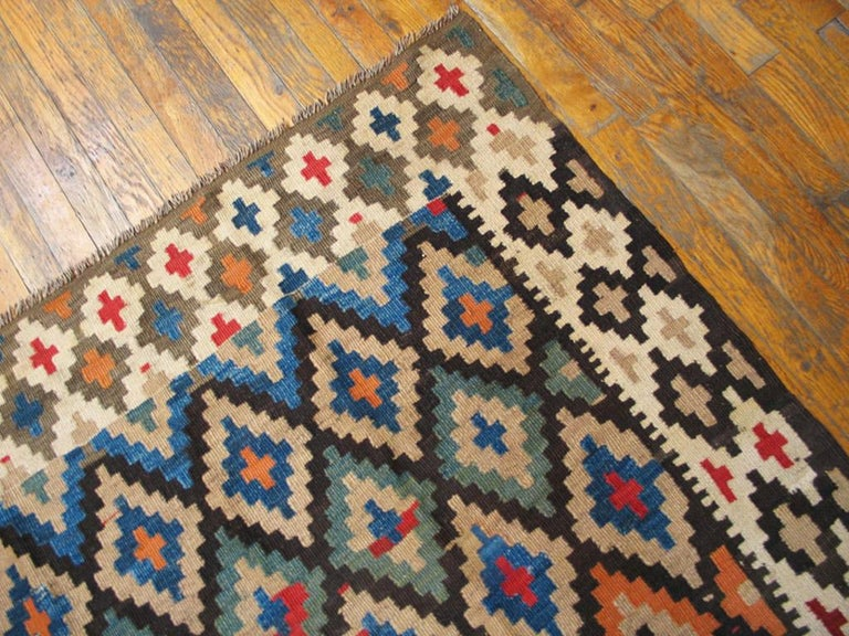 Early 20th Century Antique Persian Kilim Rug For Sale