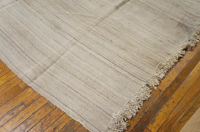 Hand-Woven Antique Persian Kilim Rug For Sale