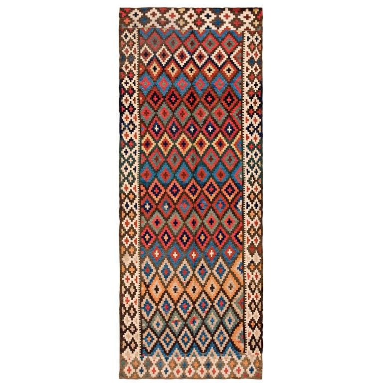 Antique Persian Kilim Rug For Sale