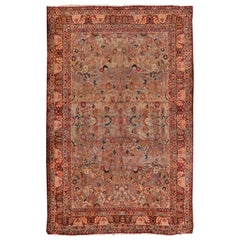 Antique Persian Kirman Rug, Carpet, circa 1890, 11' x 16'8