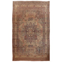 Antique Persian Kirman Rug, circa 1880