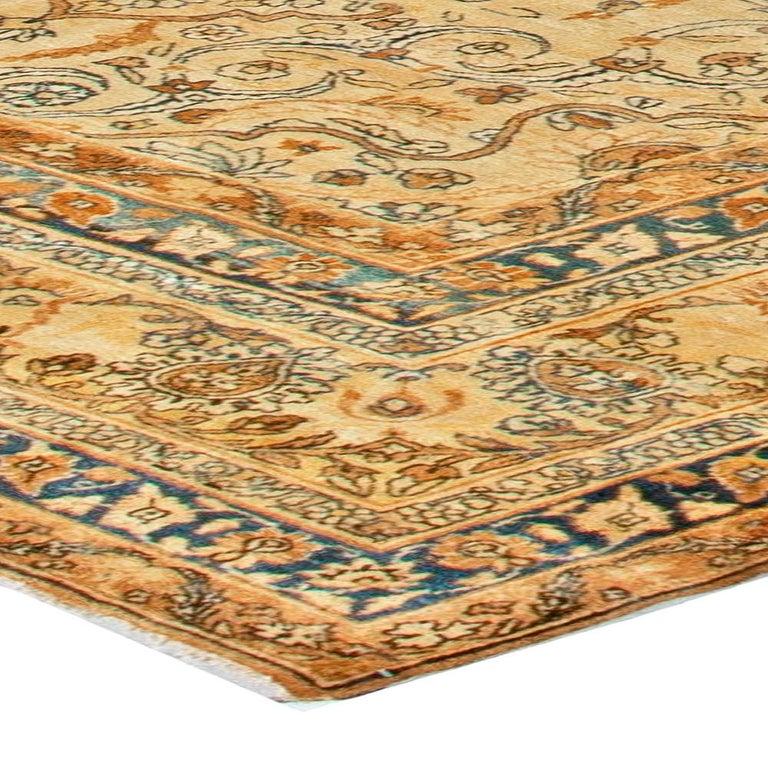 Antique Persian Kirman Rug For Sale 1