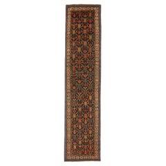 Antique Persian Kolayaei Runner Rug, circa 1920