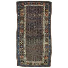 Antique Persian Kurdish Area Rug