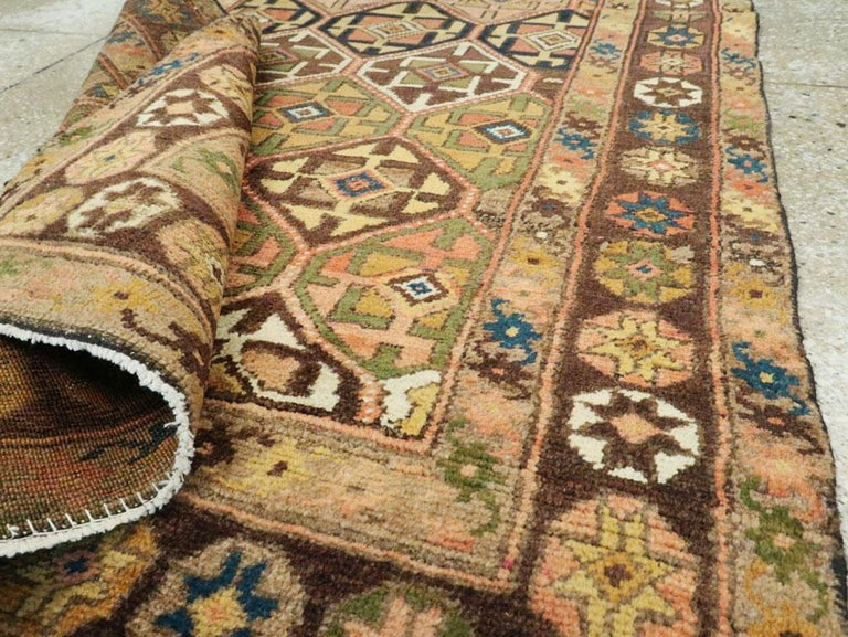Antique Persian Kurdish Tribal Rug For Sale 3