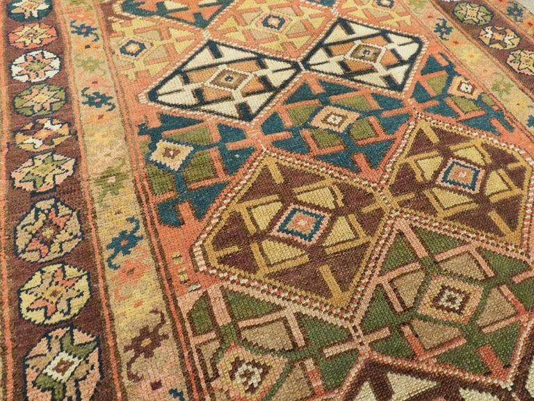 20th Century Antique Persian Kurdish Tribal Rug For Sale