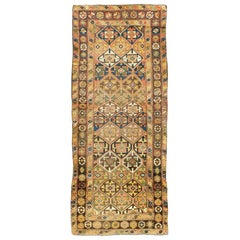 Antique Persian Kurdish Tribal Rug