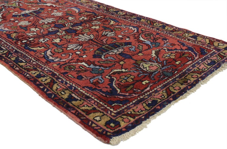 Foyer Rugs For Sale : Antique persian lilihan accent rug with traditional style