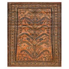 Antique Persian Lilihan Rug