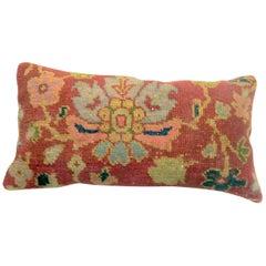 Antique Persian Mahal Bolster Pillow
