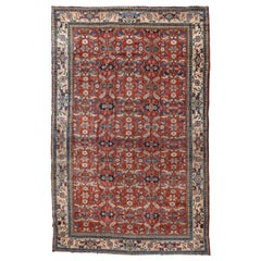 Antique Persian Mahal Ziegler Carpet, circa 1940s