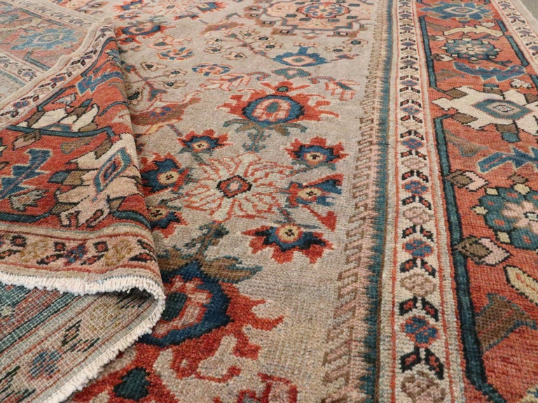 Antique Persian Mahal Carpet For Sale 2