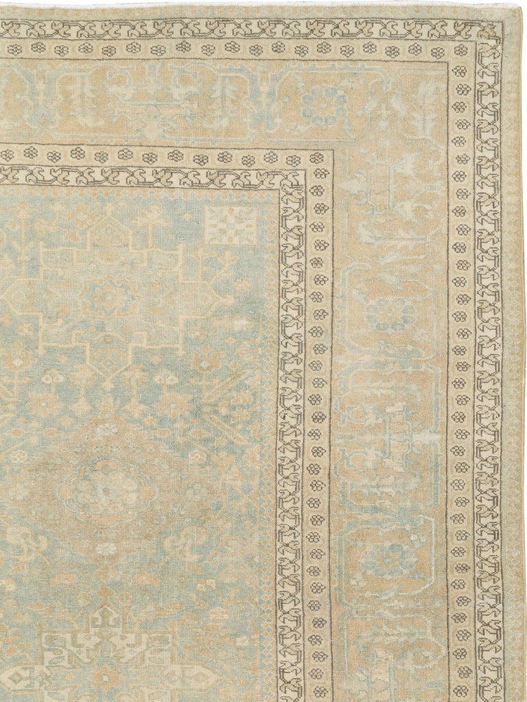 Heriz Serapi Antique Persian Malayer Carpet For Sale