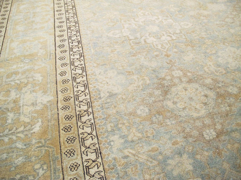 20th Century Antique Persian Malayer Carpet For Sale