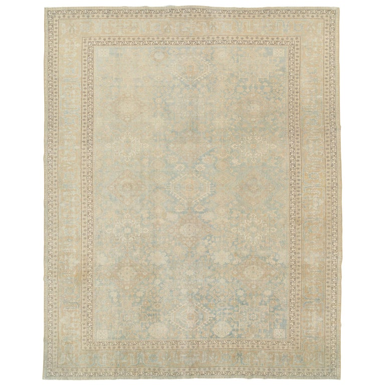 Antique Persian Malayer Carpet For Sale