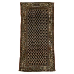 Antique Persian Malayer Gallery Rug with Traditional Style and Raconteur Vibes