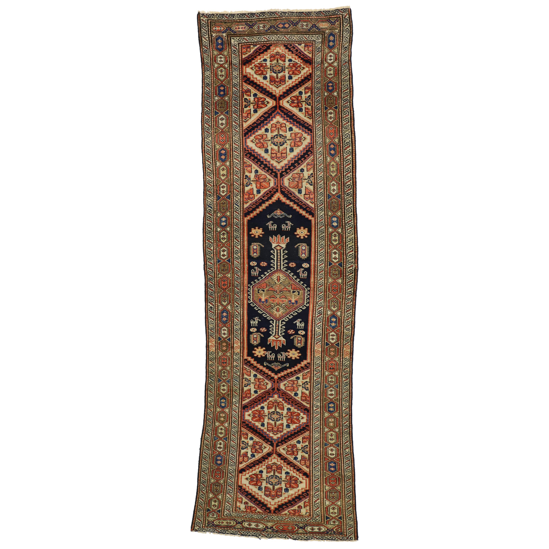 Antique Persian Malayer Hallway Runner