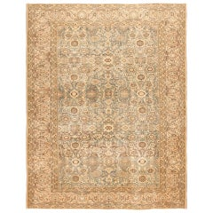 Antique Persian Malayer Rug. Size: 10 ft 5 in x 13 ft 8 in (3.17 m x 4.17 m)