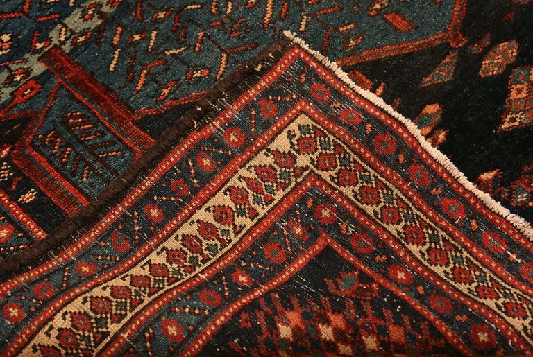 Antique Persian Malayer Rug. Size: 4 ft 7 in x 6 ft 5 in For Sale 1
