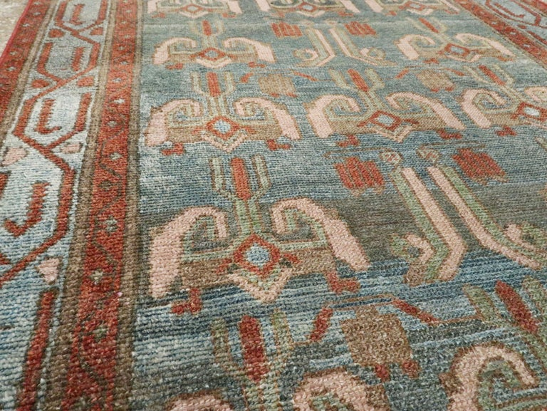 20th Century Antique Persian Malayer Runner For Sale